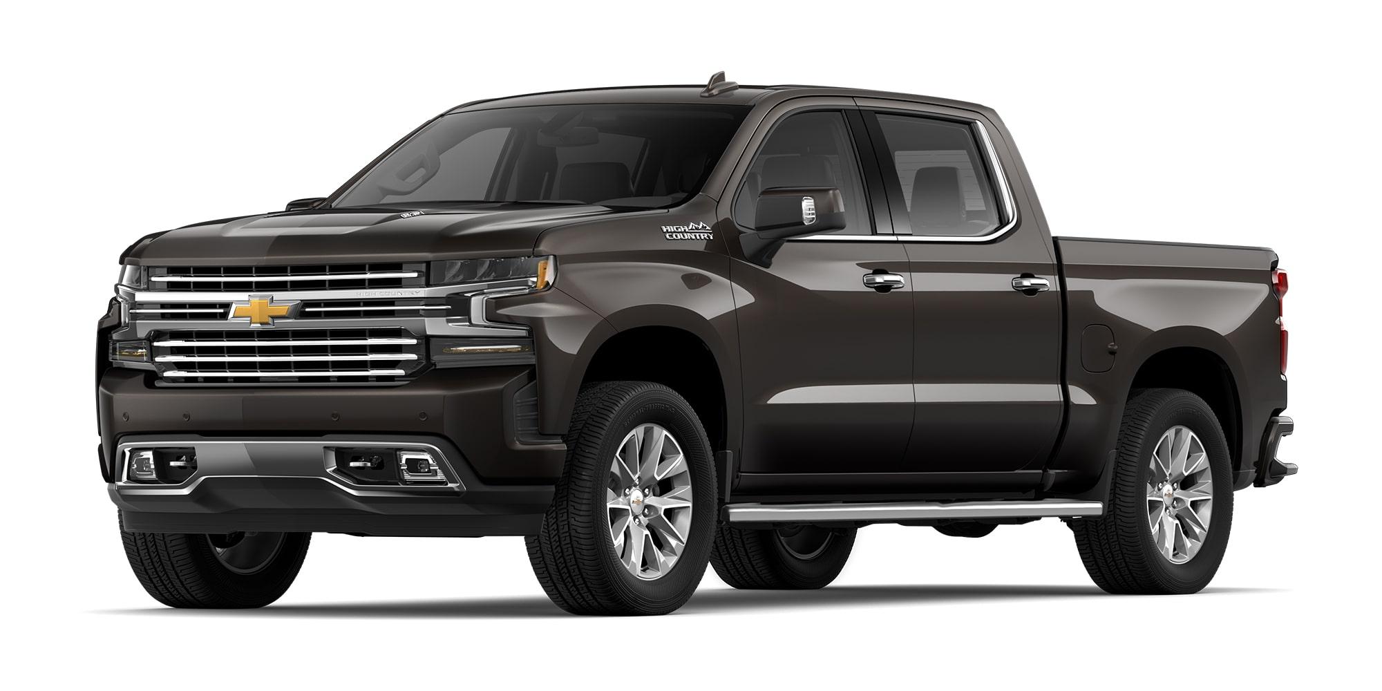 Chevrolet Cheyenne 2021, camioneta doble cabina versión High Country con rines en aluminio de 20 pulgadas y tracción 4x4