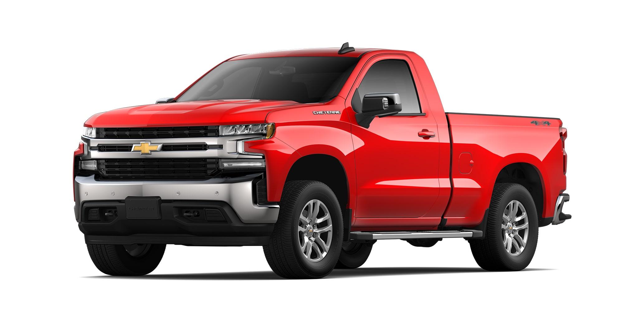 Chevrolet Cheyenne 2021, camioneta doble cabina versión LT con tracción 4x2 o 4x4