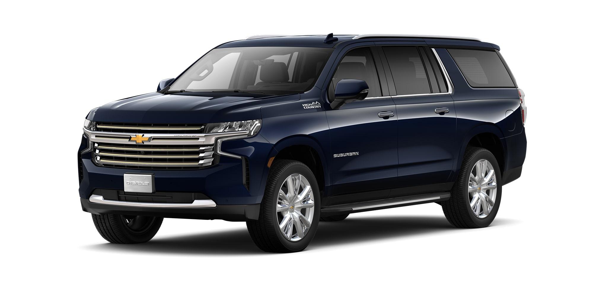Chevrolet Suburban 2021, Camioneta para 8 pasajeros en su versión High Country