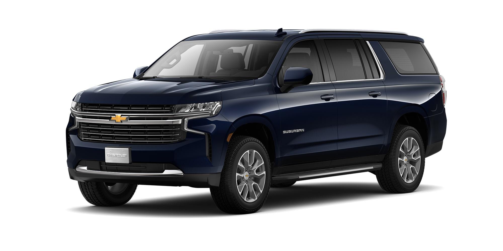 Chevrolet Suburban 2021, Camioneta para 8 pasajeros en su versión LT