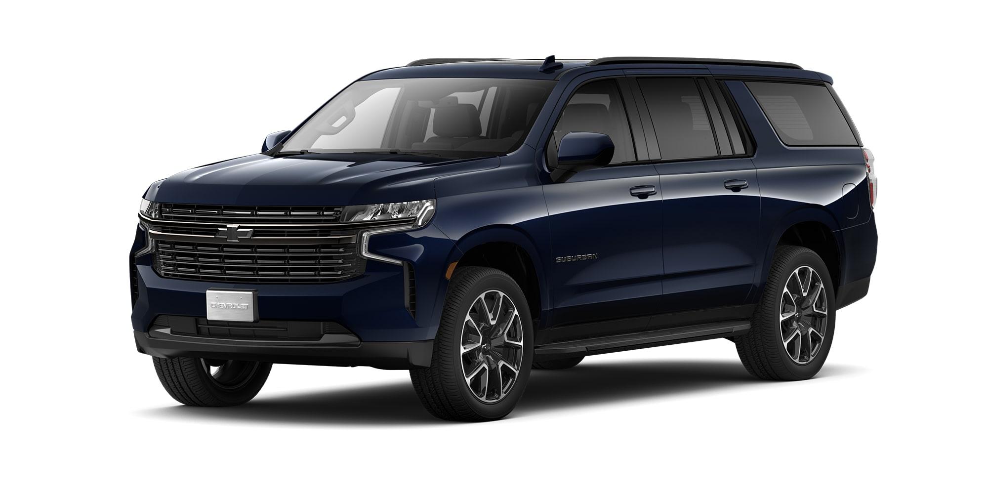 Chevrolet Suburban 2021, Camioneta para 8 pasajeros en su versión RST