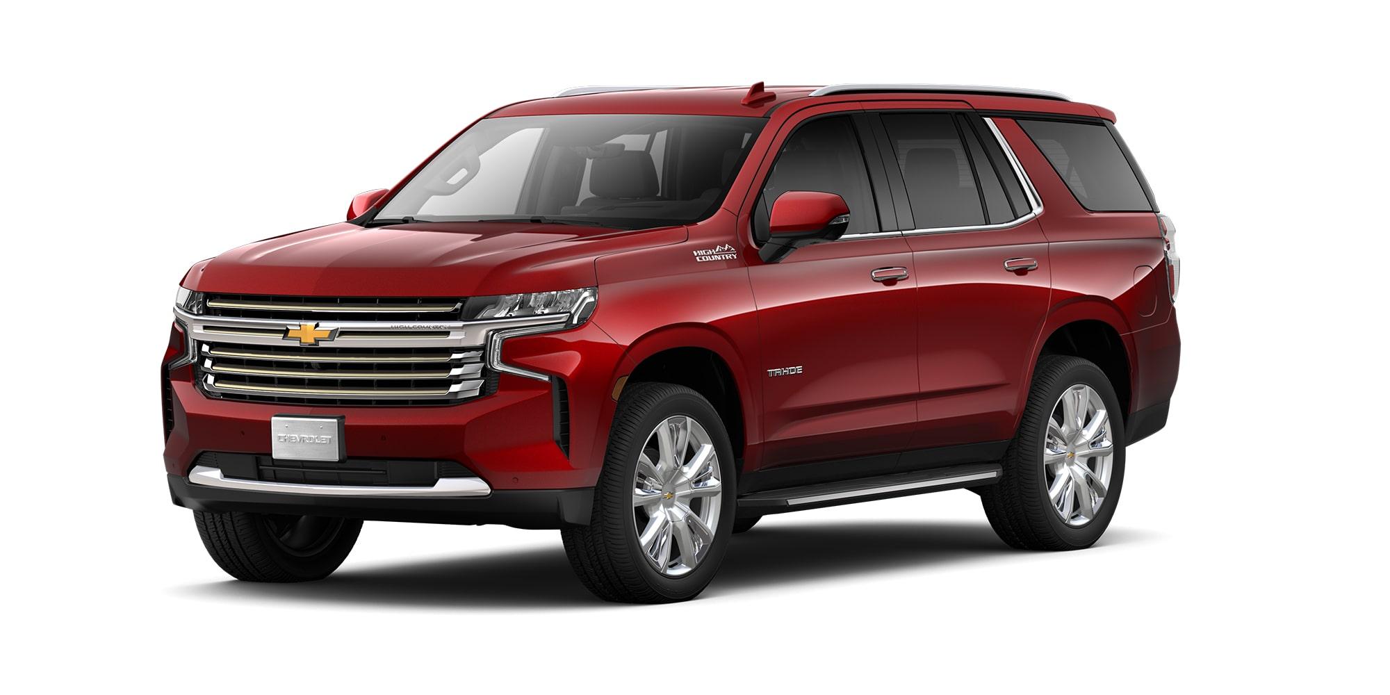 Chevrolet Tahoe 2021, SUV de 3 filas de asientos versión High Country