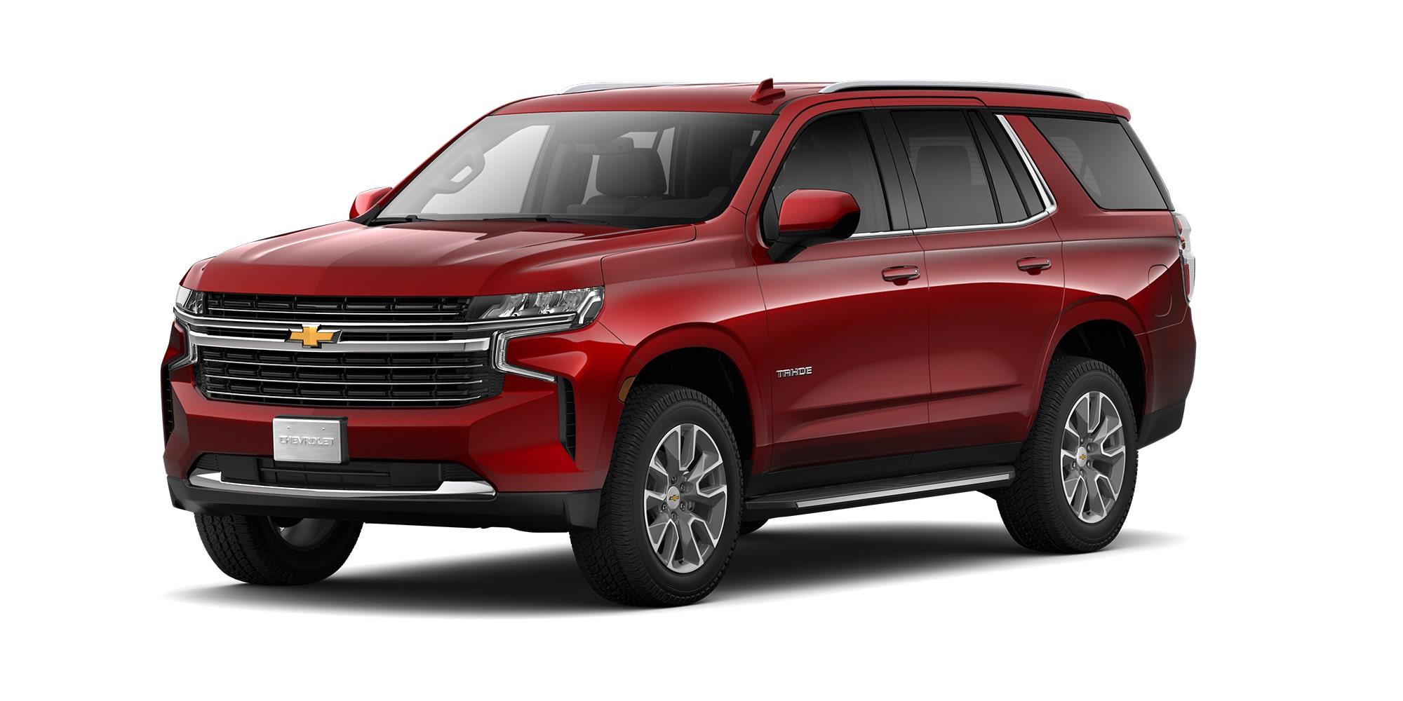 Chevrolet Tahoe 2021, SUV de 3 filas de asientos versión LT