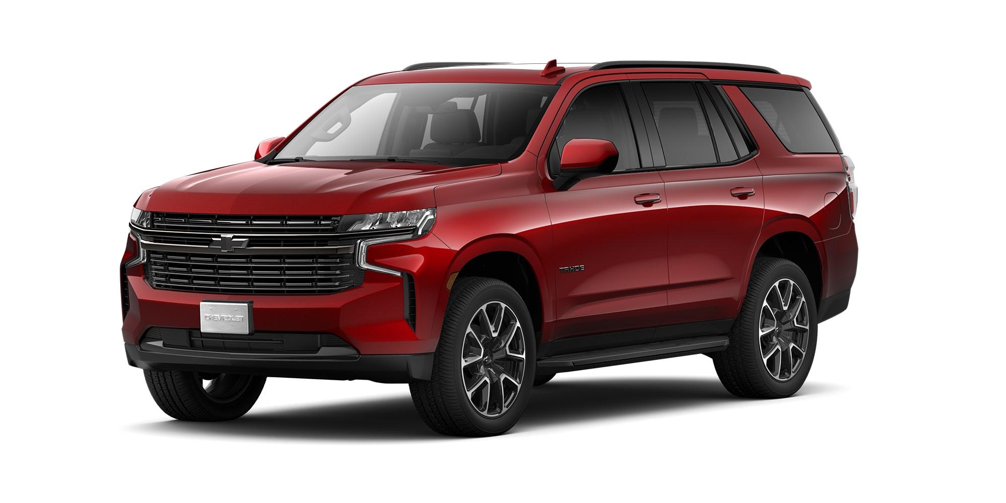 Chevrolet Tahoe 2021, SUV de 3 filas de asientos versión RST