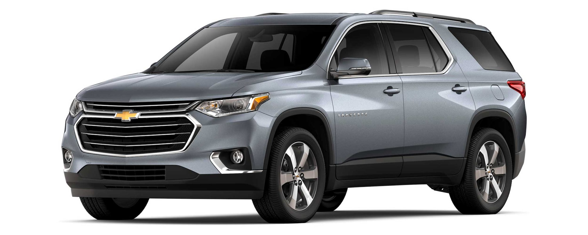 Chevrolet Traverse 2020, camioneta familiar, con faros frontales de Xenón, encendido automático y luces LED de manejo diurno