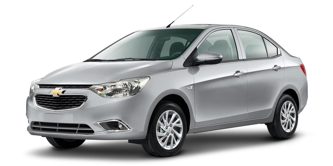 Chevrolet Aveo sedan 2018 color plata galaxia