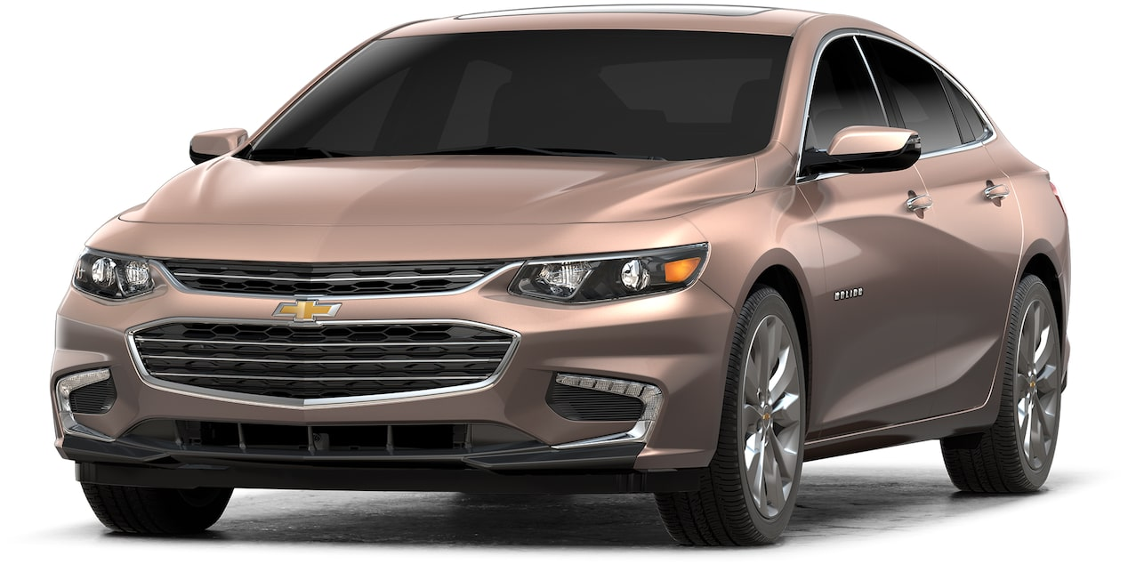 Chevrolet Malibu 2018 auto sport color cobre