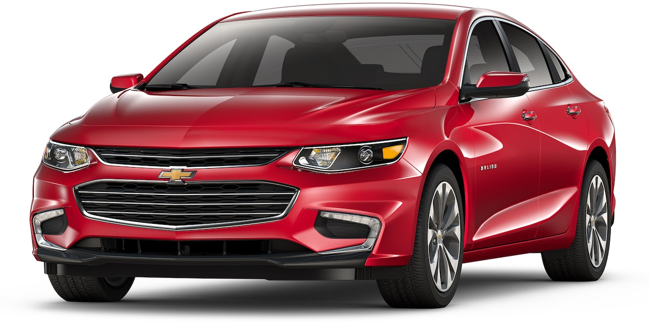 Chevrolet Malibu 2018 auto sport color rojo gloria