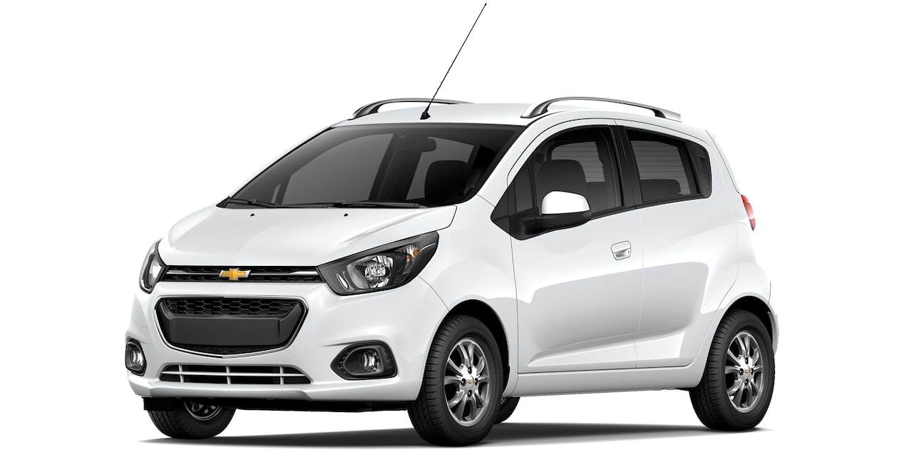 Chevrolet Beat Hatchback 2019 en color blanco.
