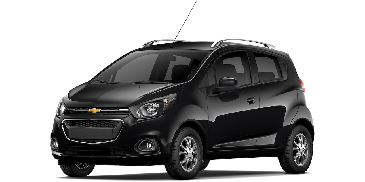 Chevrolet Beat Hatchback 2019 en color negro.