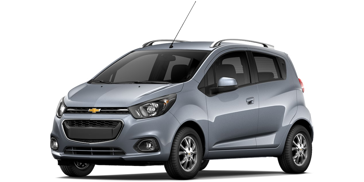 Chevrolet Beat Hatchback 2019 en color cuarzo.