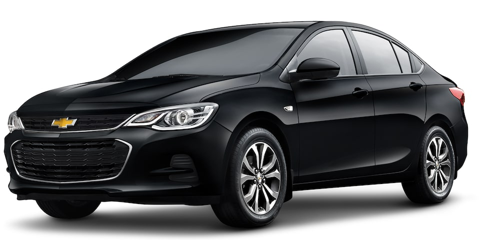 Chevrolet Cavalier 2019, auto familiar, color negro ónix