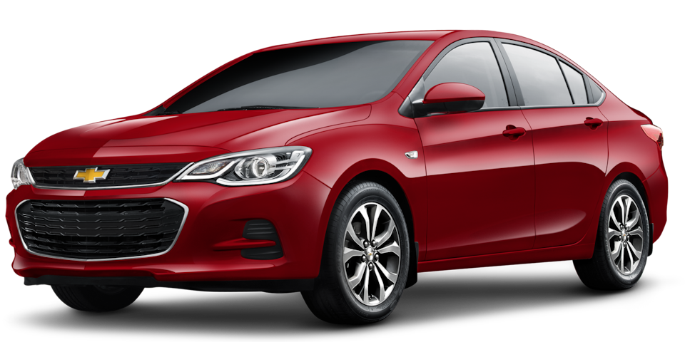 Chevrolet Cavalier 2019, auto familiar, color rojo ágata