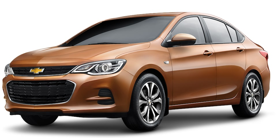 Chevrolet Cavalier 2019, auto familiar, color café ámbar