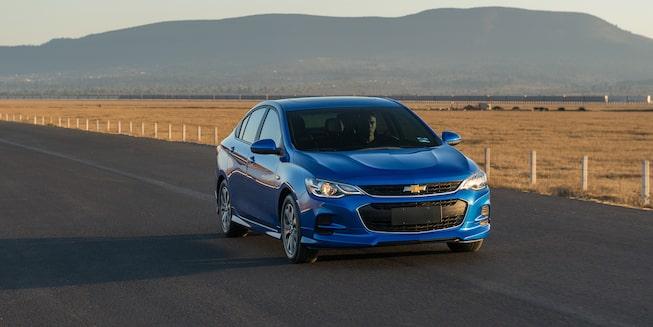 Chevrolet Cavalier 2019, auto familiar, con motor de 1.5 litros, 107 caballos de fuerza y dirección electro-asistida