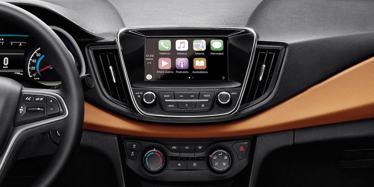 Chevrolet Cavalier 2019, con pantalla de 7 pulgadas a color, Chevrolet MyLink, Android Auto y Apple CarPlay