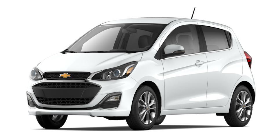 Chevrolet Spark 2020, ecovehículo color blanco