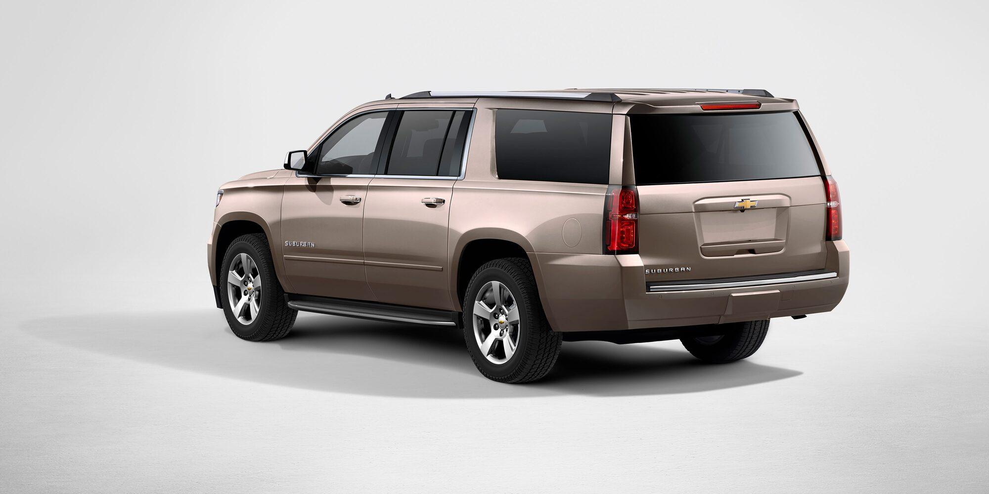 Chevrolet Suburban camioneta de lujo 2018 con sunroof eléctrico deslizable de 3 posiciones y rieles en techo
