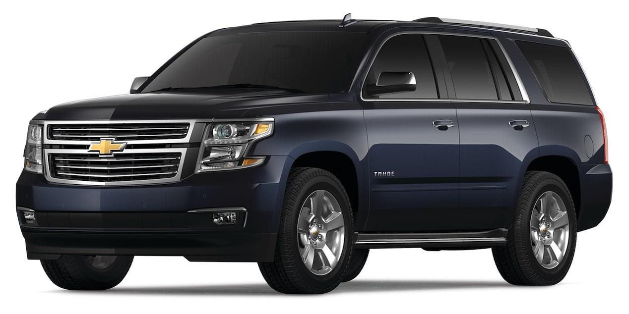Chevrolet Tahoe 2019 camioneta grande, en color Zafiro Metálico