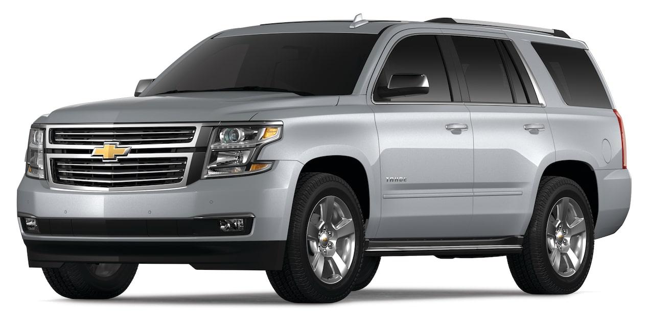 Chevrolet Tahoe 2019 camioneta grande, en color Plata Brillante