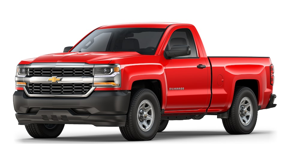 Chevrolet Silverado 1500 y 2500 camioneta pick-up 2018
