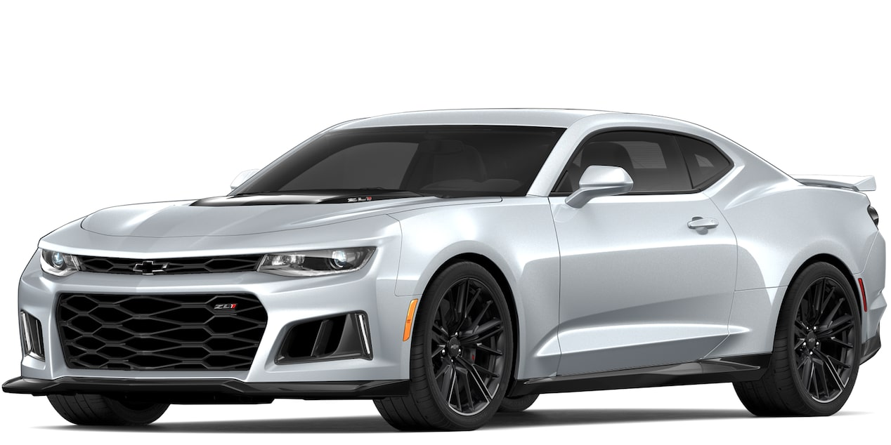 Chevrolet Camaro ZL1 2018 convertible color silver ice metallic