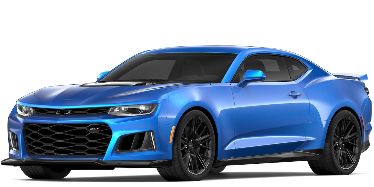 Chevrolet Camaro ZL1 2018 convertible color blue me away