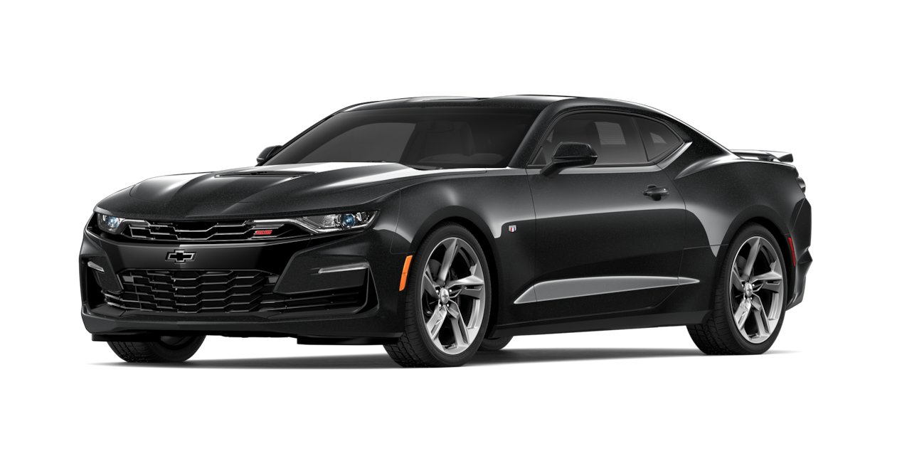 Chevrolet Camaro 2019, carro deportivo color mosaic black metallic