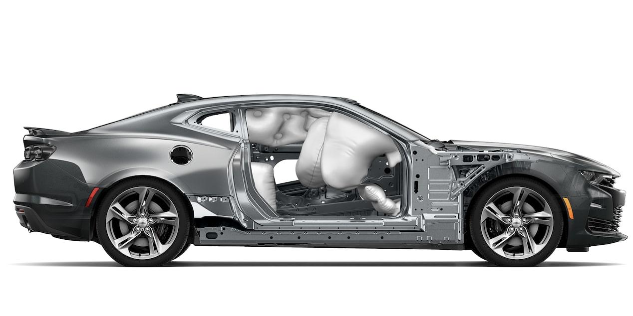 Chevrolet Camaro coupé 2019, carro deportivo, con8 bolsas de  aire frontales, laterales, de rodilla y tipo cortina (conductor y  pasajero)
