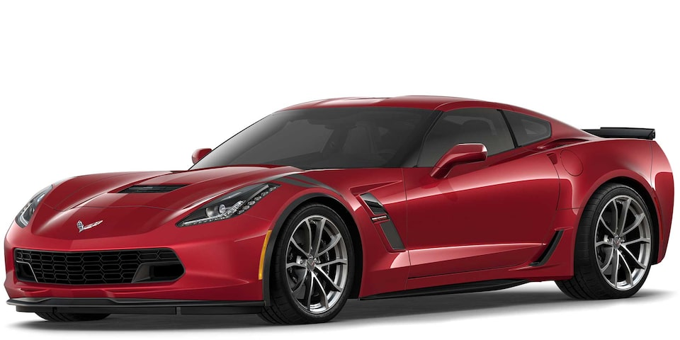 Chevrolet Corvette Grand Sport 2019 superdeportivo color Addiction Red Tintcoat