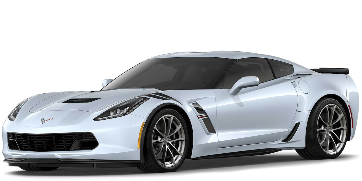 Chevrolet Corvette Grand Sport 2019 superdeportivo color Matrix Gray