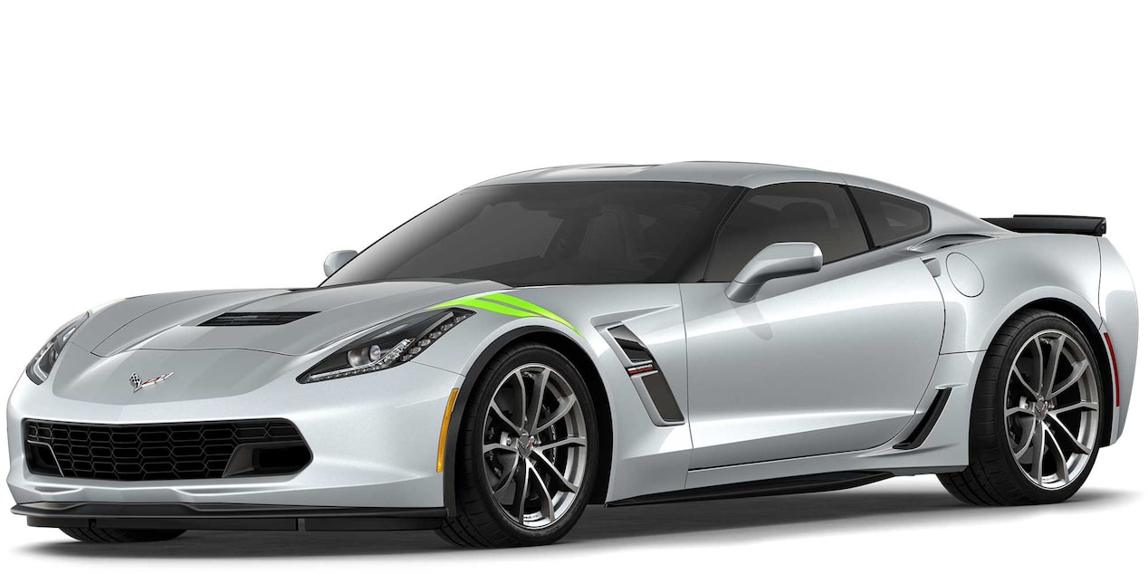 Chevrolet Corvette Grand Sport 2019 superdeportivo color  Silver Metallic