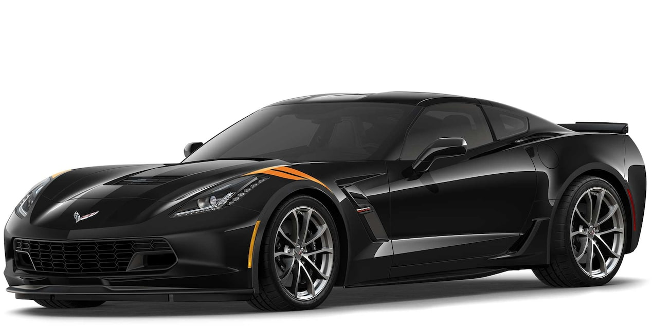 Chevrolet Corvette Grand Sport 2019 superdeportivo color Black