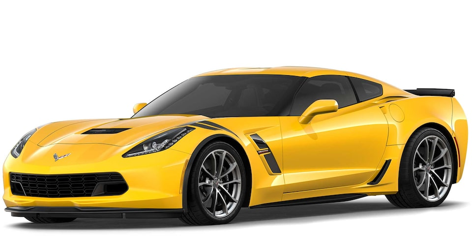 Chevrolet Corvette Grand Sport 2019 superdeportivo color Yellow Tintcoat