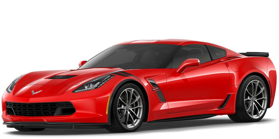 Chevrolet Corvette Grand Sport 2019 superdeportivo color Torch Red