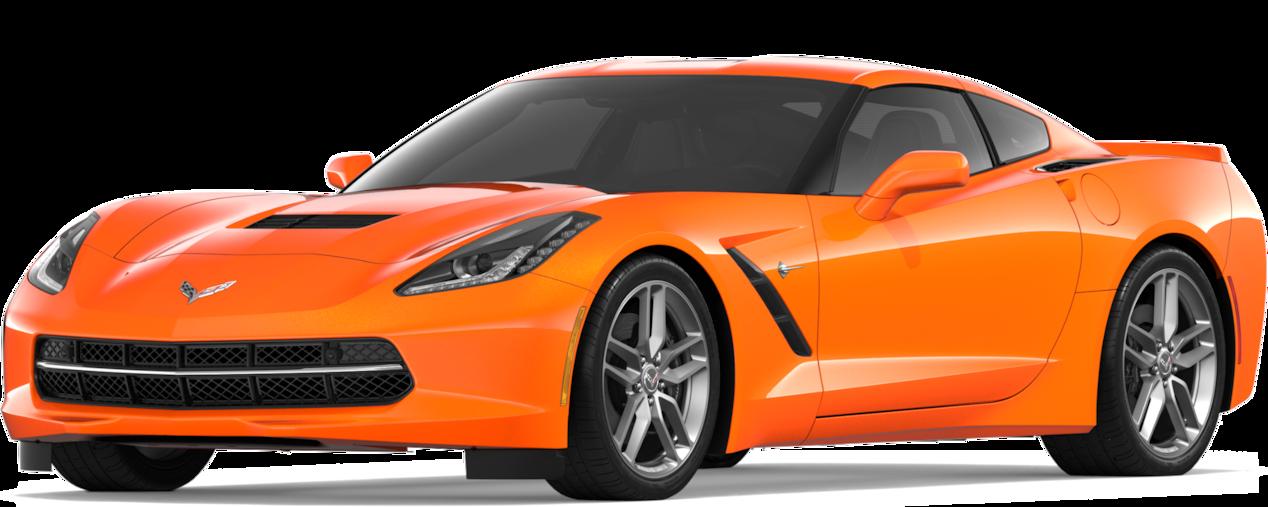 Chevrolet Corvette Stingray 2019 Serbing Orange