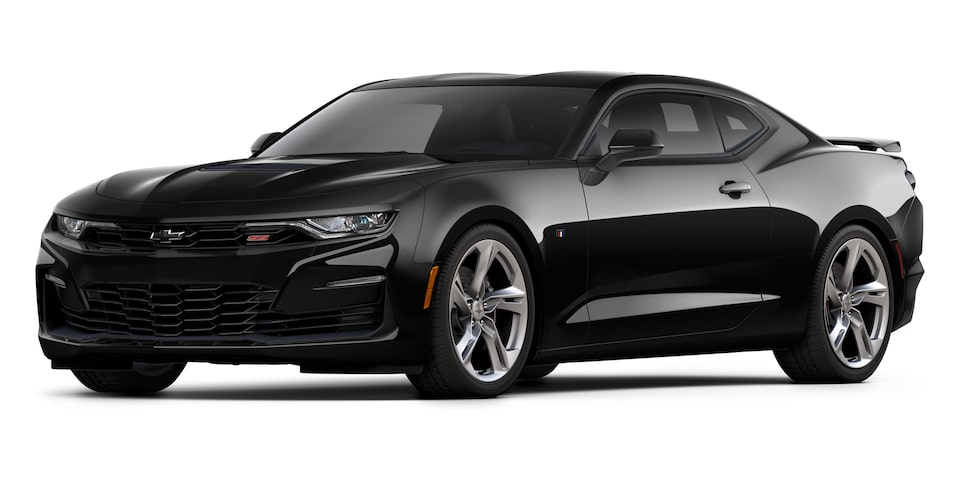 Chevrolet Camaro Coupé 2020, deportivo en color Black