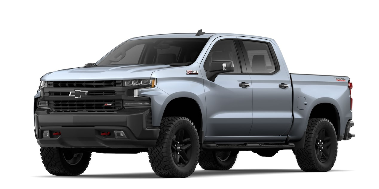 Chevrolet Cheyenne 2019, pick up, en color gris grafito metálico