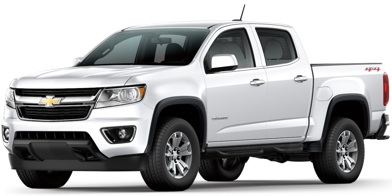 Chevrolet Colorado 2019 camioneta 4x4 color blanco