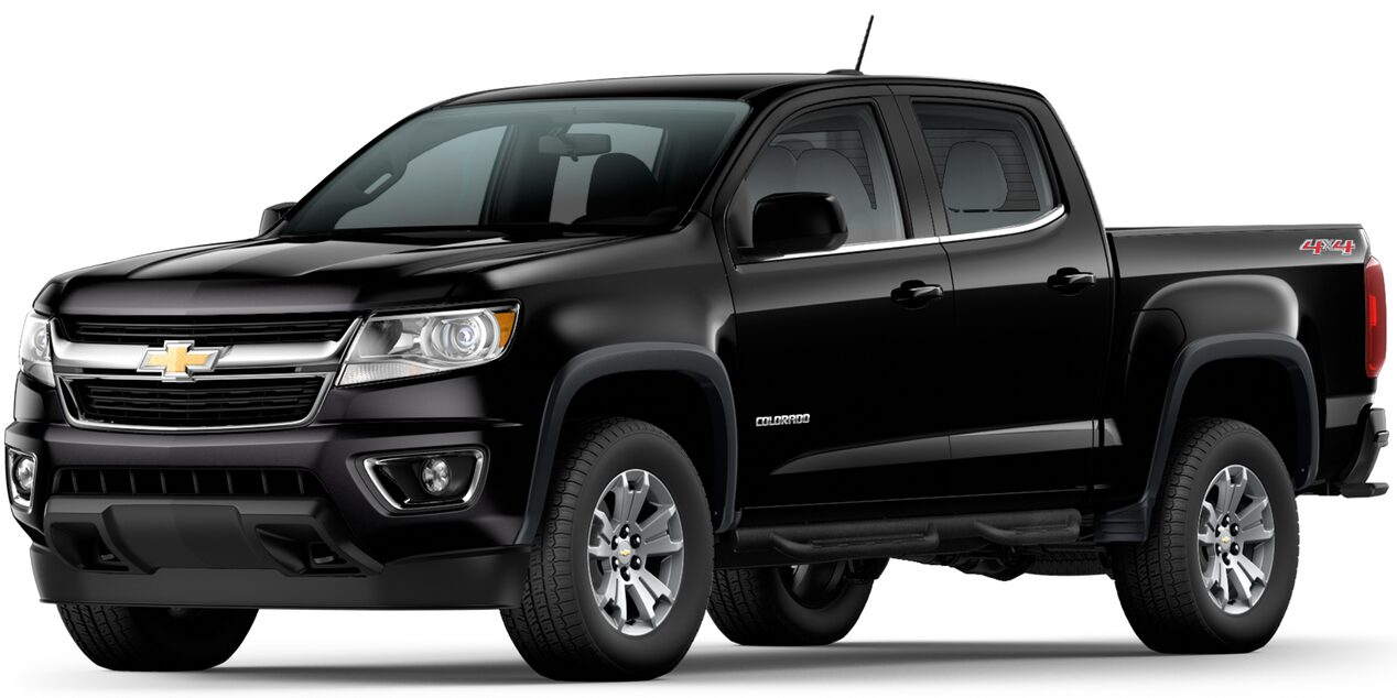 Chevrolet Colorado 2019 camioneta 4x4 color negro