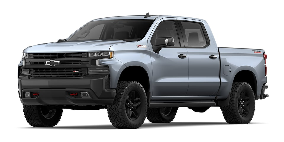Cheyenne 2020 pickup doble cabina color grafito metálico