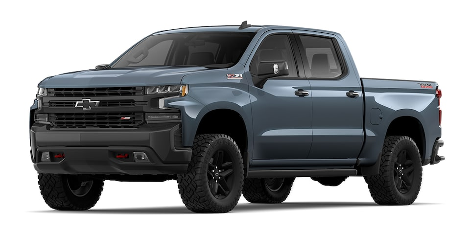 Cheyenne 2020 pickup doble cabina color gris tormenta