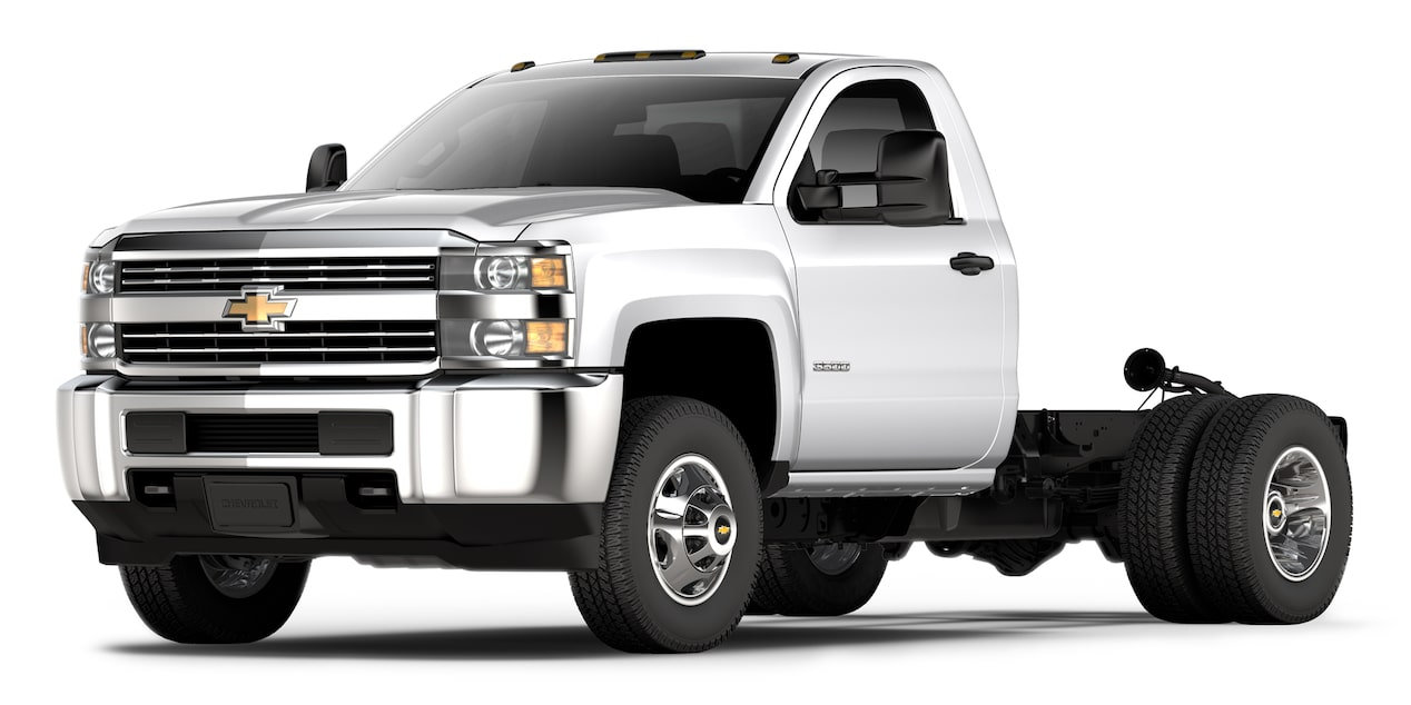 Chevrolet Silverado 3500 2018 color blanco