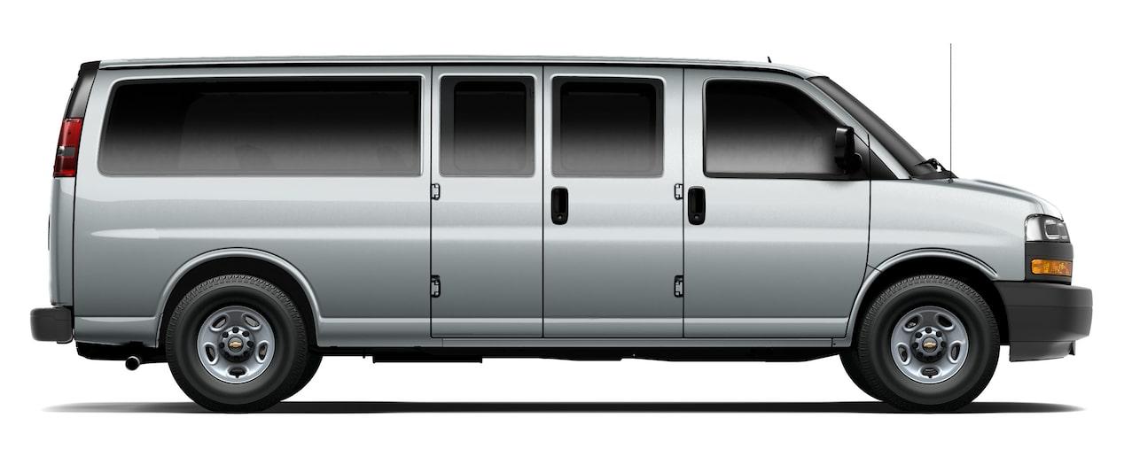 Chevrolet Express, camioneta van, con gran espacio interior y amplia capacidad de carga que te permite adaptarla para cualquier tipo de trabajo